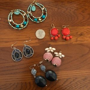 Earring lot colorful earring variety